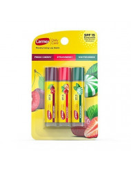 Carmex Daily Care Lip Balm Variety 0.15 oz Pack of 3 (Stick in Blister Pack)