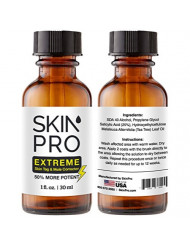 SkinPro EXTREME Skin Tag Remover & Mole Corrector - Fast Acting Physician Level 3 Formula, Industry Leading 25% Pure Salicylic Acid Concentration