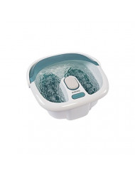 HoMedics Bubble Spa Elite Footbath, 2-in-1 removable pedicure center, Toe-touch control, Easy tote handle no-splash, FB-450H