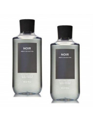 Bath and Body Works 2 Pack Men's Collection 2 in 1 Hair and Body Wash NOIR.
