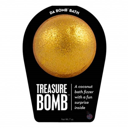 Da Bomb Treasure Bath Bomb
