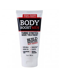 Body Boost Men Turbo Stretch Mark Treatment- Stretch Mark and Scar Treatment for Bodybuilding