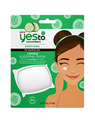 Yes To Cucumbers Calming Sleeping Mask 0.13 fl oz, pack of 1