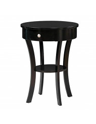 Convenience Concepts Classic Accents Schaffer End Table, Black