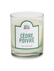 La Belle Meche Scented Soy Candle | Cedarwood