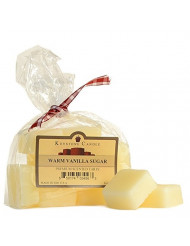 Pack of 2 Warm Vanilla Sugar Scented Wax Melts Bag of 10 for Weddings, Home & Event Decoration, Relaxation, Made in US