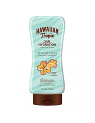 Hawaiian Tropic Silk Hydration Weightless After Sun Gel Lotion With Hydrating Aloe And Gel Ribbons, 6 Ounce