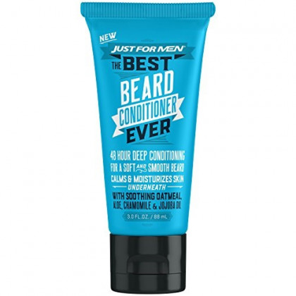 Just For Men The Best Beard Conditioner Ever, Made with Oatmeal, Aloe, Chamomile, and Jojoba Oil, 3 Fluid Ounce