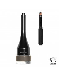 COVERGIRL Easy Breezy Brow Sculpt + Set Pomade, Soft Brown, 0.05 Pound (packaging may vary)