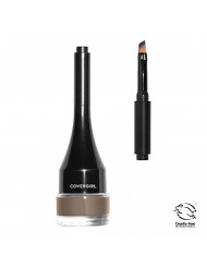 COVERGIRL Easy Breezy Brow Sculpt + Set Pomade, Honey Brown, 0.10 Ounce (Pack of 1)