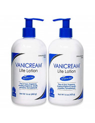 Vanicream Lite Lotion Bottle with Pump 16 Oz (2 Pack)