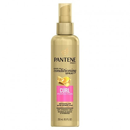 Pantene Pro-V Curl Perfection Leave-In Conditioning Spray Detangler, 8.5 Ounce