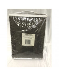 "Therapist's Choice Microfiber Quilted Blanket, 60"" x 90"" (Chocolate)"