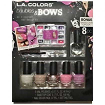 L.A. COLORS Nail Art Design Kit (Baubles and Bows)