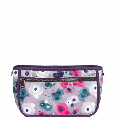 Lug Women's Parasail Cosmetic Case, Water, WATERCOLOR PEARL