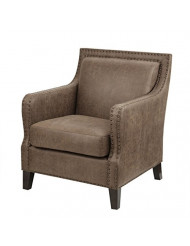 Shasta Accent Chair Brown See Below