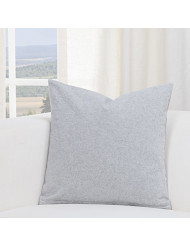 SIScovers Harvest Pewter Grey Accent Throw Pillow Large 20 x 20