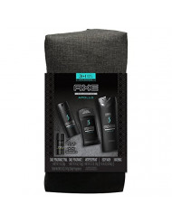 AXE Apollo Holiday Gift Bag (Body Spray/Body Wash/Antiperspirant Stick/Bonus Travel Body Spray)