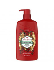 Old Spice Wild Bearglove Scent Body Wash for Men, 30 Fl Oz (Pack of 4)