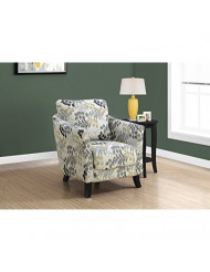 Monarch Specialties Accent Chair, Beige