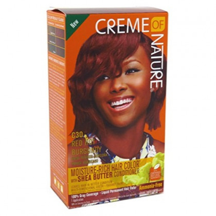 Creme Of Nature Color C30 Red Hot Burgundy Kit (2 Pack)