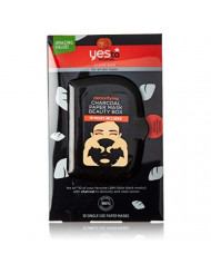 Yes To Tomatoes Detoxifying Charcoal Paper Face Mask - 10 Count Facial Mask Beauty Box