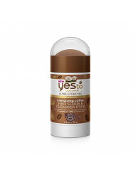 Yes To Coconut Ultra Hydrating Energizing Coffee 2 in 1 Scrub & Cleanser Stick, 2.5 Ounce