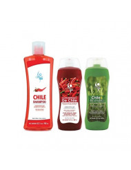 Shampoo de Chile Shelo NABEL Hair Growth Stimulating (Unisex) Anti Hair Loss with Natural Chili Extract + Crece y Detiene la Caida de Cabello con Extracto Natural de Chile