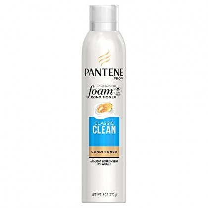 Pantene Pro-V Classic Clean Foam Hair Conditioners, 6 Ounce