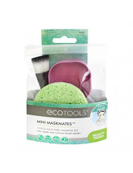 EcoTools Mini Mask Mates 4 Piece Kit For Easy Application of Face Mask of All Kinds, Whether for Clay Mask, Mud Mask, or Korean Skin Care