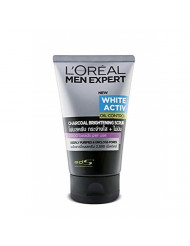 L'Oreal Men Expert Pure and Matte Charcoal Black Scrub, 3.3 Ounce