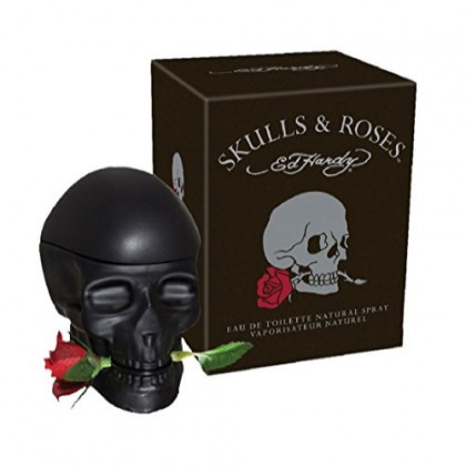 Skulls and Roses ED Hardy Colognes for Men, 2.5 Ounce
