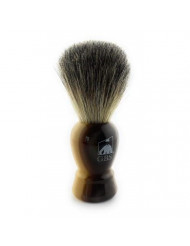 """GBS 100% Pure Badger Bristle Shaving Brush 4"""" Overall Height 22MM Knot w/Faux Horn Handle Compliments Any Shaving Razor Best Wet Shaving Experience"""