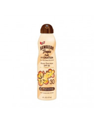 Hawaiian Tropic Silk Hydration Weightless Clear Spray Sunscreen, Broad-Spectrum Protection, SPF 30, 6 Ounces