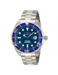 Invicta Men's Pro Diver Stainless Steel Blue Carbon Fiber Dial Watch