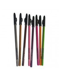 GraffEtch Hair Pattern Pencils (NEON) 8 pack by QUALITY PENCILS