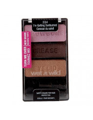 Wet n Wild Color Icon Collection Eyeshadow Trio, I'm Getting Sunburned [334], 1 ea