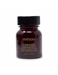Mehron Makeup Stage Blood (1 Ounce) (Bright Arterial)