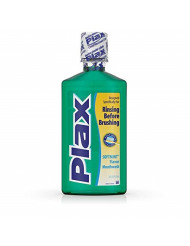 Plax Advanced Formula Plaque Lossening Rinse, Soft Mint, 16 Fl. Oz