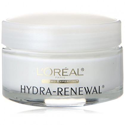 L'Oreal Paris Skin Care Hydra-Renewal Face Moisturizer Day Cream with Pro-Vitamin B5 for Dry/Sensitive Skin, 1.7 fl. Oz