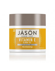 JASON Revitalizing Vitamin E 5,000 IU Moisturizing Creme, 4 Ounce Container