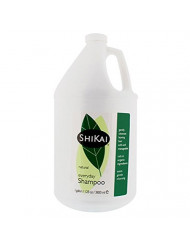 Shikai - Natural Everyday Cleansing Shampoo, Plant-Based, Non-Soap, Non-Detergent, Gently Cleanses Leaving Hair Soft and Manageable (Unscented, 1 Gallon)