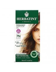 Herbatint Permanent Haircolor Gel, 7N Blonde, 4.56 fl oz (135 ml)