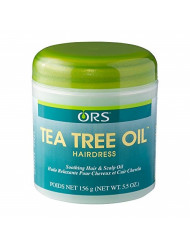 ORS Tea Tree Oil Hairdress 5.5 Ounce (Pack of 1)