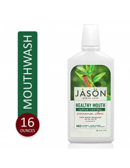 JASON Healthy Mouth Cinnamon Clove Tartar Control Mouthwash, 16 oz Bottle