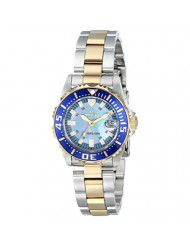 """Invicta Women's 2961 Pro Diver Collection """"Lady Abyss"""" Two-Tone Dive Watch"""