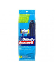 Gillette Sensor 2 Pivot  Razors with Lubrastrip