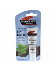 Palmer's Cocoa Butter Formula Lip Butter, Dark Chocolate and Peppermint, 0.35 Ounce
