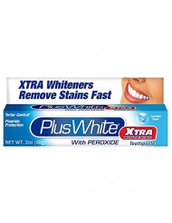Plus White Xtra Whitening Every Day Whitening Toothpaste with Tartar Control, Clean Mint, 2 oz (60 g), (Case of 6)
