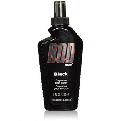 Parfums De Coeur Bod Man Black Fragrance Body Spray for Men, 8 Ounce